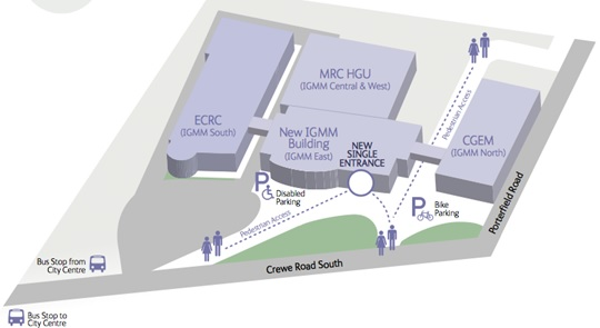 IGMM building map